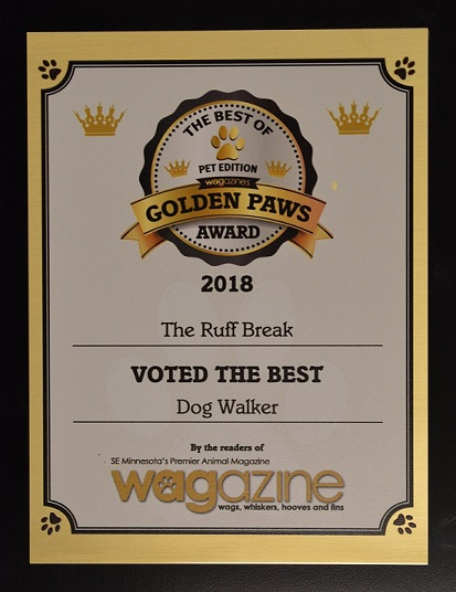 Voted Best Dog Walking Company